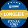 Maestro longlife kilincsek